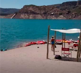 Cruce a Playas de Arena en Valle Grande - Portal del Atuel