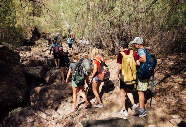 Trekking en Valle Grande, viví al máximo el turismo aventura en Portal del Atuel